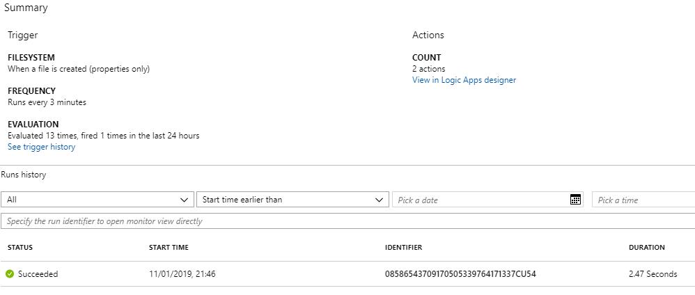 Logic App Monitoring