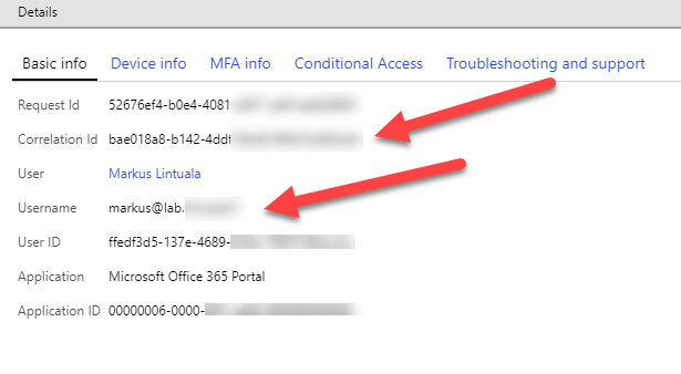 Troubleshooting Conditional Access - Bloggerz cloud