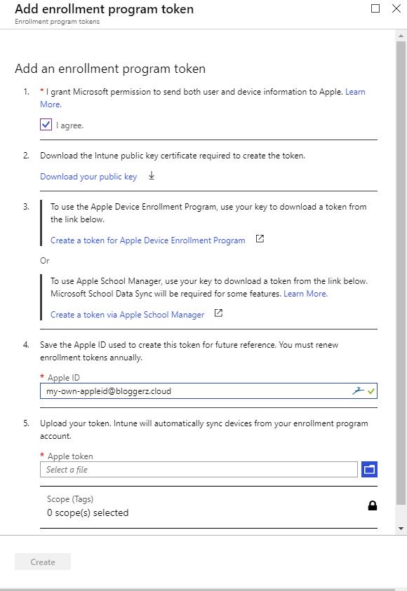 Mobile Device Automatic Enrollment 1/3 - DEP - Bloggerz cloud